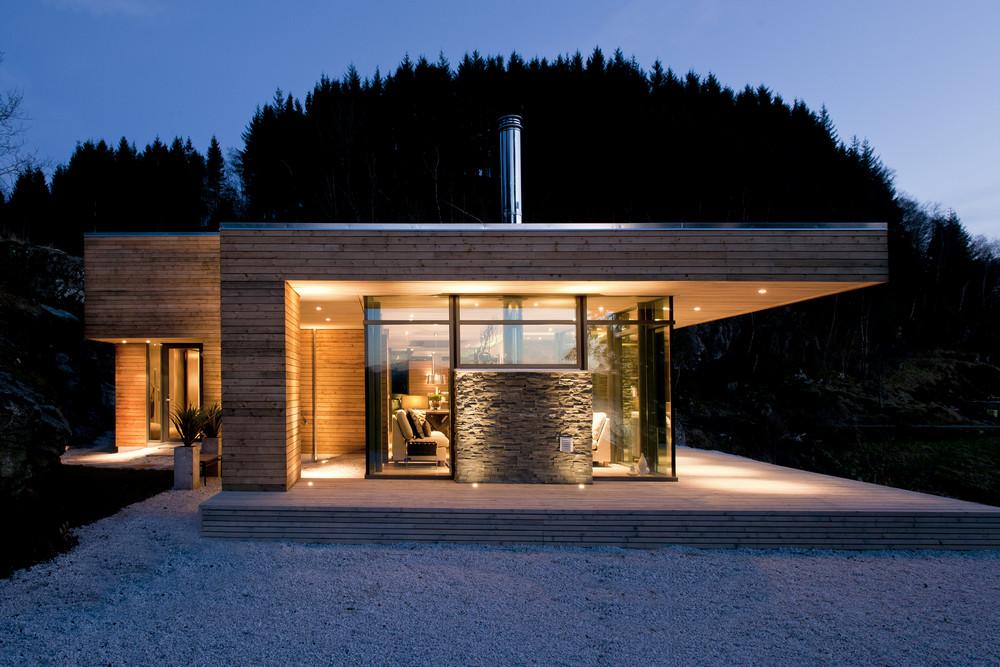 Casa Prefabricada En Noruega Domusxl