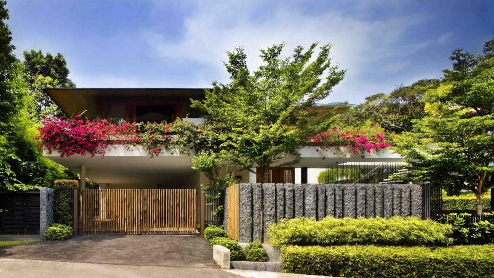 Casa jard n en singapur domusxl for Casa de jardin varca goa