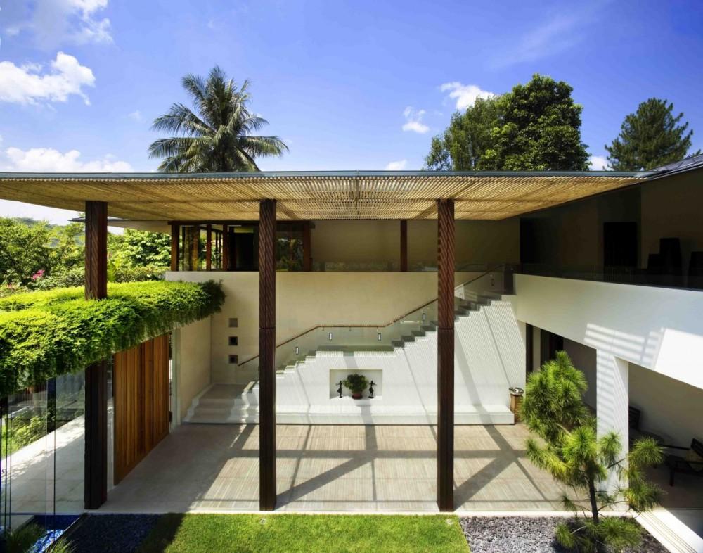 Casa jard n en singapur domusxl for Casa jardin