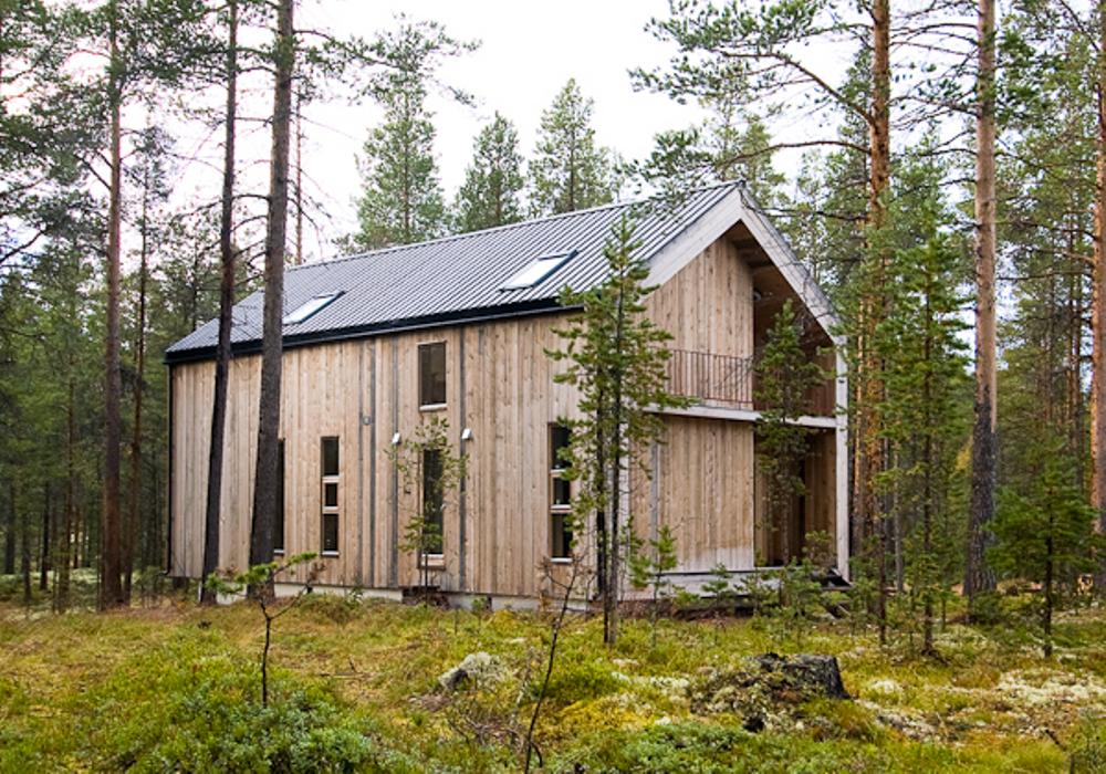 Casa de madera en noruega domusxl for Casas en noruega