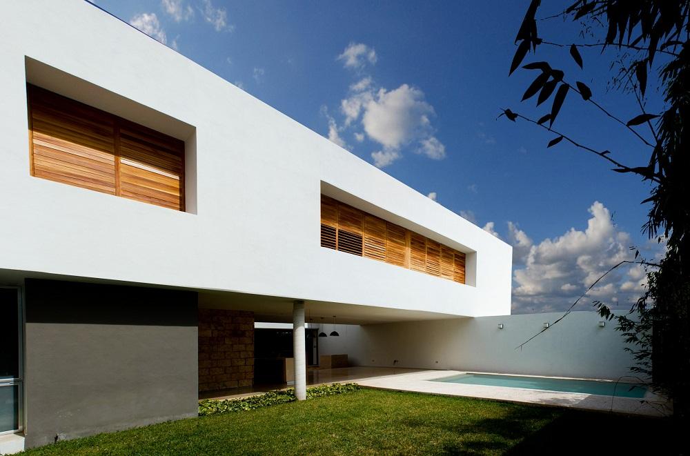 Vivienda moderna en m rida domusxl for Modernes betonhaus