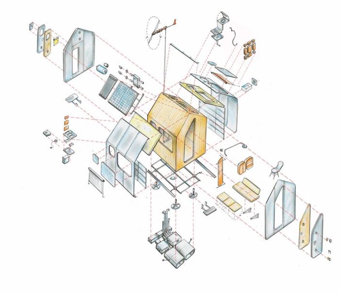 Vivienda minimalista Diógenes-Italia-2-arquitectura-domusxl