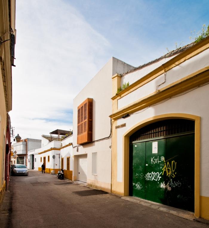 Vivienda unifamiliar entre medianeras-España-12-arquitectura-domusxl
