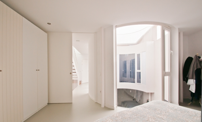 Vivienda unifamiliar entre medianeras-España-15-arquitectura-domusxl