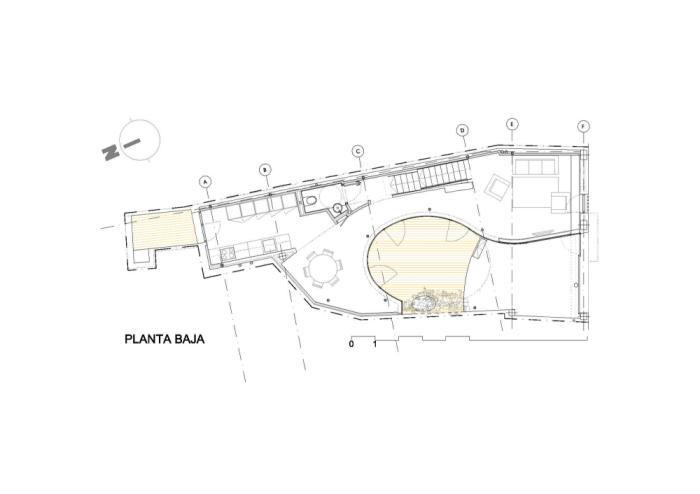 Vivienda unifamiliar entre medianeras-España-4-arquitectura-domusxl