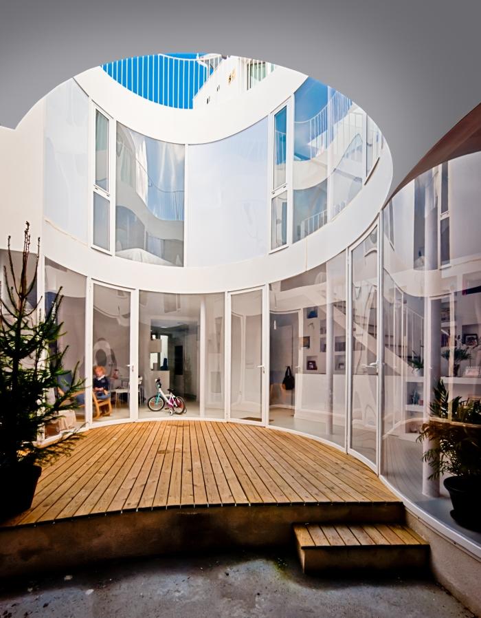 Vivienda unifamiliar entre medianeras-España-9-arquitectura-domusxl