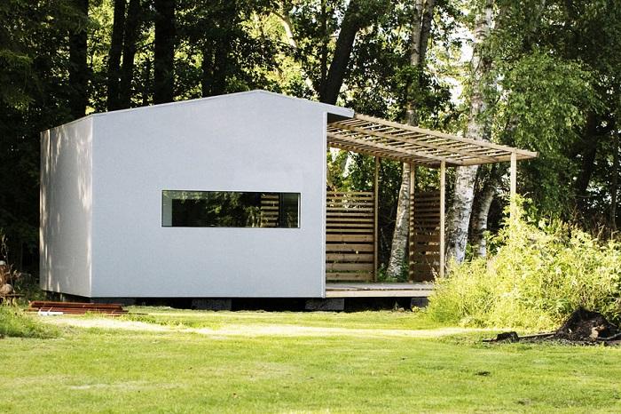 Caseta prefabricada mini house de jonas wagell domusxl - Ikea casa prefabbricata ...