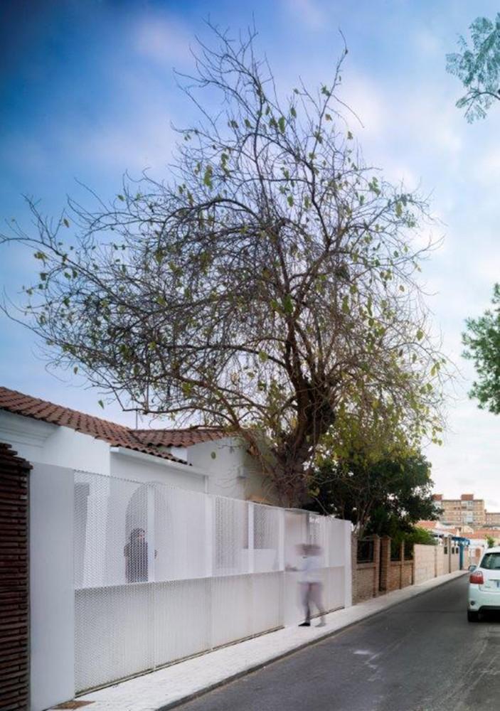 Casa para violinista en m laga domusxl for Casas en ciudad jardin malaga